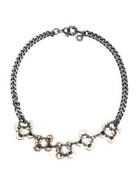 Marc By Marc Jacobs - Gray Necklace - Lyst