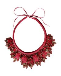 INTROPIA   Red Necklace   Lyst