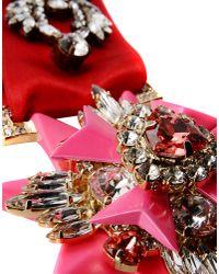 Shourouk - Purple Necklace - Lyst