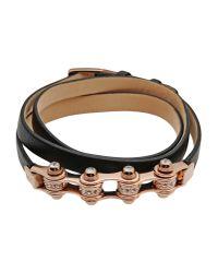 Emporio Armani - Metallic Bracelet - Lyst