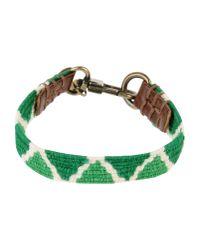 Caputo & Co.   Green Bracelet   Lyst