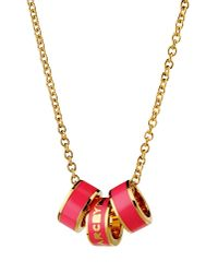Marc By Marc Jacobs - Pink Necklace - Lyst