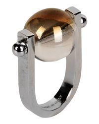 Jil Sander | Metallic Ring | Lyst