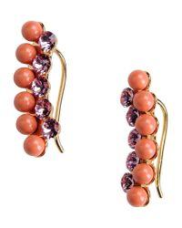 Ca&Lou | Orange Earrings | Lyst