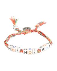 Venessa Arizaga - Pink Bracelet - Lyst
