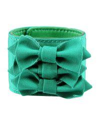 Red(v) - Green Bracelet - Lyst