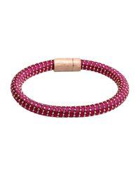 Carolina Bucci | Purple Bracelet | Lyst