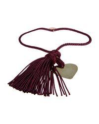 Stefania Di Pardo - Red Bracelet - Lyst
