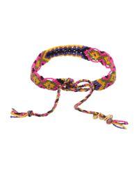 Lucy Folk - Red Multi Poison Ivy Chain Bracelet - Lyst