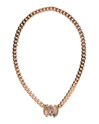 Ca&Lou | Brown Necklace | Lyst