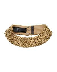 La Perla - Metallic Necklace - Lyst