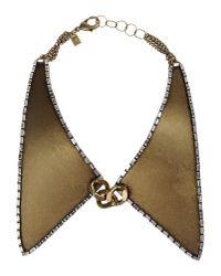DANNIJO   Metallic Necklace   Lyst
