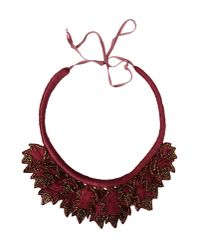 INTROPIA | Red Necklace | Lyst