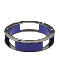Erika Cavallini Semi Couture - Blue Bracelet - Lyst