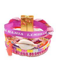 Hipanema - Purple Bracelet - Lyst