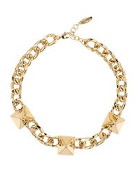 Giuseppe Zanotti - Metallic Necklace - Lyst