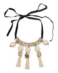 Marni - Metallic Necklace - Lyst