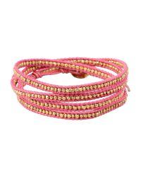 Chan Luu - Gray Bracelet - Lyst