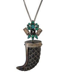 Roberto Cavalli | Black Necklace | Lyst