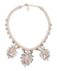 Pinko   Metallic Necklace   Lyst