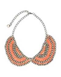 Twin Set - Blue Necklace - Lyst