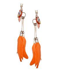 Twin Set | Orange Earrings | Lyst