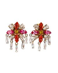 Shourouk | Pink Earrings | Lyst