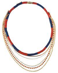 Venessa Arizaga - Red Necklace - Lyst