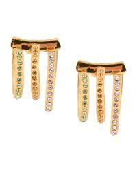 Ca&Lou | Metallic Earrings | Lyst