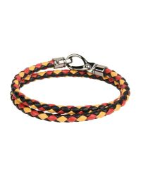 Tod's - Red Bracelet - Lyst
