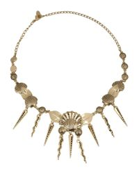Fausto Puglisi | Metallic Necklace | Lyst