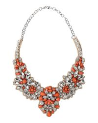 Valentino | Orange Necklace | Lyst