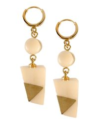 Isabel Marant - White Earrings - Lyst