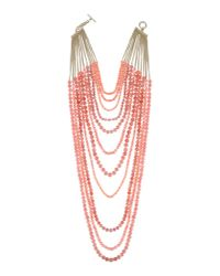 Rosantica - Pink Necklace - Lyst