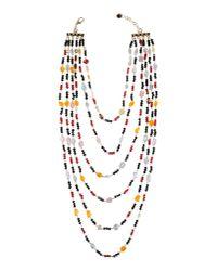 Marina Fossati | Black Necklace | Lyst