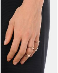Jil Sander - Multicolor Ring - Lyst
