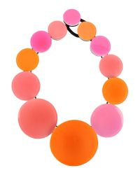 Monies | Pink Necklace | Lyst
