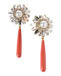 Elizabeth Cole - Metallic Earrings - Lyst