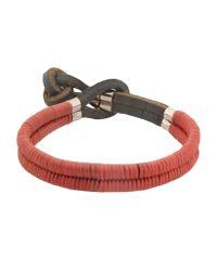 DSquared²   Red Bracelet for Men   Lyst