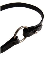 Jil Sander - Black Bracelet - Lyst
