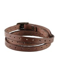 Frye - Brown Bracelet for Men - Lyst