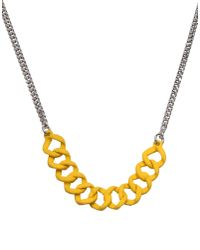 Marc By Marc Jacobs | Yellow Necklace | Lyst
