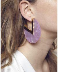 Maria Francesca Pepe   Pink Earrings   Lyst