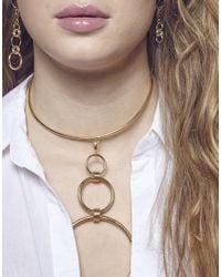 Maria Francesca Pepe - Metallic Necklace - Lyst