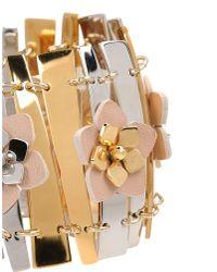 Fendi - Metallic Bracelet - Lyst