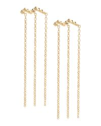 Elizabeth and James - Metallic Earrings - Lyst