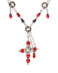 Dolce & Gabbana - Gray Necklace - Lyst