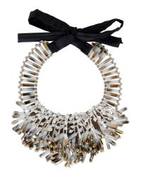 Night Market - White Necklace - Lyst