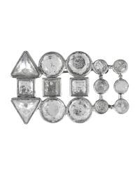Blumarine - Metallic Brooch - Lyst