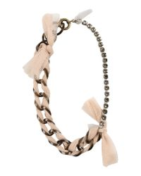 Lanvin | Natural Necklace | Lyst